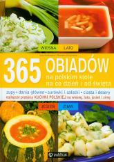 365 obiadów na polskim stole - Aszkiewicz Ewa, Chojnacka Romana | mała okładka