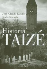 Historia Taize - Escaffit Jean Claude, Rasiwala Moiz | mała okładka