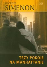 Trzy pokoje na Manhattanie - Georges Simenon | mała okładka