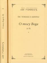 O mocy Boga Tom 2 część 1-2 seria dwujęzyczna - Tomasz z Akwinu | mała okładka