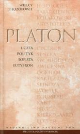 Wielcy Filozofowie 3 Uczta Polityk Sofista Eutyfron - Platon | mała okładka