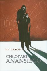 Chłopaki Anansiego - Neil Gaiman | mała okładka