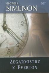 Zegarmistrz z Everton - Georges Simenon | mała okładka