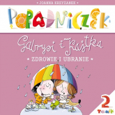 Poradniczek Gabrysi i Kajtka Zdrowie i ubranie - Joanna Krzyżanek | mała okładka