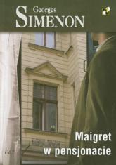 Maigret w pensjonacie - Georges Simenon | mała okładka