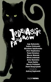 Jedenaście pazurów Antologia - Sapkowski Andrzej, Baniewicz Artur, Orbitowsk | mała okładka