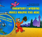 Awantury i wybryki małej małpki Fiki Miki z płytą CD - Kornel Makuszyński | mała okładka