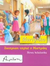 Martynka Zaczynam czytać z Martynką Nowa koleżanka - Gilbert Delahaye | mała okładka