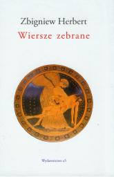 Wiersze zebrane - Zbigniew Herbert | mała okładka