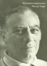 Wyznanie mojżeszowe - Henryk Vogler | mała okładka