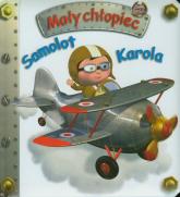 Samolot Karola Mały chłopiec - Emilie Beaumont | mała okładka