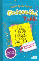 Dzienniki Nikki Zapraszam na party! - Russell Rachel Renee | mała okładka