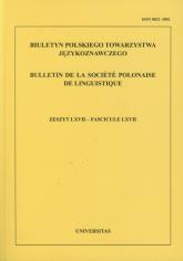Biuletyn Polskiego Towarzystwa Językoznawczego Tom 66 -  | mała okładka