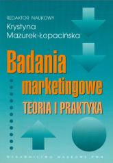 Badania marketingowe Teoria i praktyka -  | mała okładka