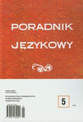 Poradnik językowy 5/2012 -  | mała okładka