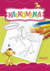 Kalkomania z naklejkami Pegaz - Dorota Krassowska | mała okładka
