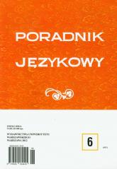 Poradnik językowy 6/2012 -  | mała okładka