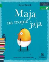 Czytam sobie Maja na tropie jaja Poziom 2 - Rafał Witek | mała okładka