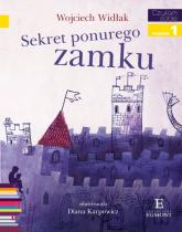 Czytam sobie Sekret ponurego zamku Poziom 1 - Wojciech Widłak | mała okładka