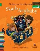 Czytam sobie Skarb Arubaby Poziom 2 - Małgorzata Strzałkowska | mała okładka