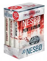 Trylogia z Oslo Czerwone gardło / Trzeci klucz / Pentagram Pakiet - Jo Nesbo | mała okładka