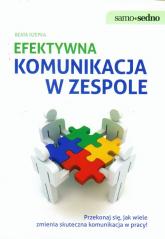 Efektywna komunikacja w zespole - Beata Rzepka | mała okładka