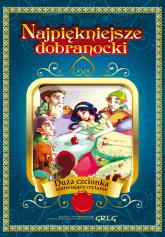Najpiękniejsze dobranocki (twarda oprawa) Duża czcionka ułatwiająca czytanie - Katarzyna Kieś-Kokocińska | mała okładka