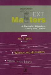 Text matters 1/2011 -  | mała okładka