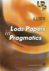 6.2/2010 Lodz Papers in Pragmatics -  | mała okładka