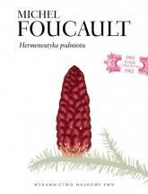 Hermeneutyka podmiotu - Michel Foucault | mała okładka