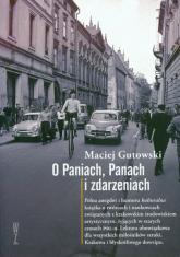 O paniach panach i zdarzeniach - Maciej Gutowski | mała okładka
