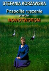 Pospolite ruszenie przeciw nowotworom - Stefania Korżawska   mała okładka