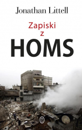Zapiski z Homs - Jonathan Littell | mała okładka
