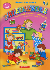 Przedszkole świat naklejek 4-6 lat -  | mała okładka