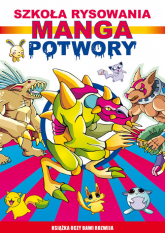 Manga Potwory Szkoła rysowania - Mateusz Jagielski | mała okładka