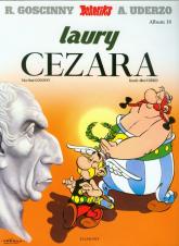 Asteriks Laury Cezara Tom 18 - Rene Goscinny | mała okładka