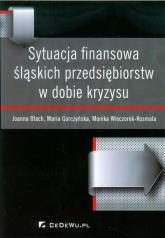 Sytuacja finansowa śląskich przedsiębiorstw w dobie kryzysu - Błach Joanna, Gorczyńska Maria, Wieczorek-Kosmala Monika | mała okładka