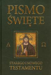 Pismo Święte Starego i Nowego Testamentu Czarne - Kazimierz Romaniuk   mała okładka