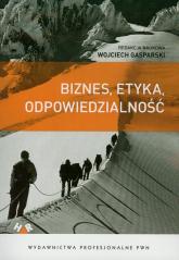 Biznes, etyka, odpowiedzialność -    mała okładka
