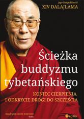 Ścieżka buddyzmu tybetańskiego Koniec cierpienia i odkrycie drogi do szczęścia - XIV Dalajlama | mała okładka