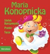 Stefek Burczymucha Pranie Tęcza - Maria Konopnicka | mała okładka