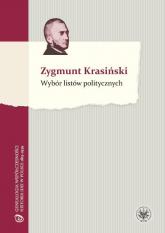 Wybór listów politycznych - Zygmunt Krasiński | mała okładka