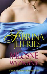 Miłosne wyzwanie - Sabrina Jeffries | mała okładka
