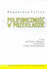 Polifoniczność w przekładzie - Magdalena Pytlak | mała okładka