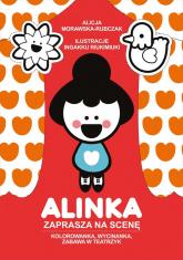 Alinka zaprasza na scenę - Alicja Morawska-Rubczak | mała okładka