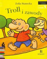 Czytam sobie Troll i zawody Poziom 1 - Zofia Stanecka | mała okładka