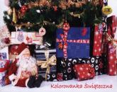 Kolorowanka świąteczna -  | mała okładka