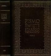 Pismo Święte Starego Testamentu Tom 1-2 duże litery. Pakiet - Kazimierz Romaniuk   mała okładka