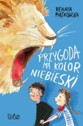 Przygoda ma kolor niebieski - Renata Piątkowska | mała okładka