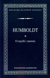 O myśli i mowie - Humboldt von Wilhelm | mała okładka